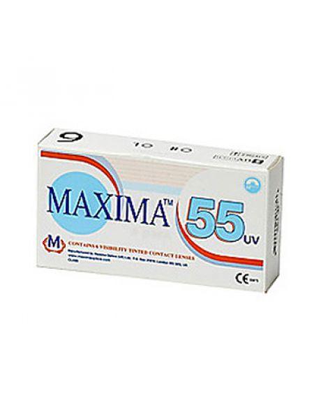 Контактные линзы Maxima 55 UV 6 линз (3 пары)