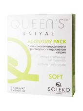 Растворы Soleko S.P.A Queen's UniYal 3 х 250 мл