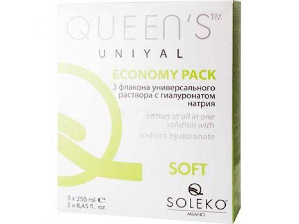 Растворы Soleko S.P.A Queen's UniYal 3 х 250 мл