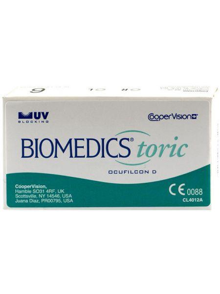 Торические линзы Biomedics Toric 55 (6 линз)