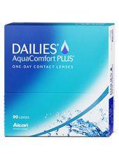 Контактные линзы Dailies AquaComfort Plus 90 линз (45 пар)