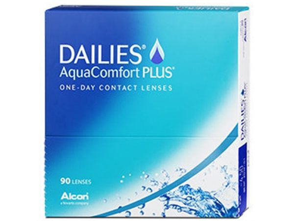Контактные линзы Dailies AquaComfort Plus 90 линз