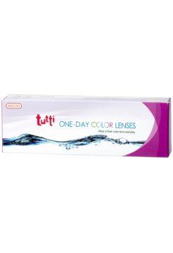 Цветные однодневные линзы Tutti One-Day color 1(5 линз)