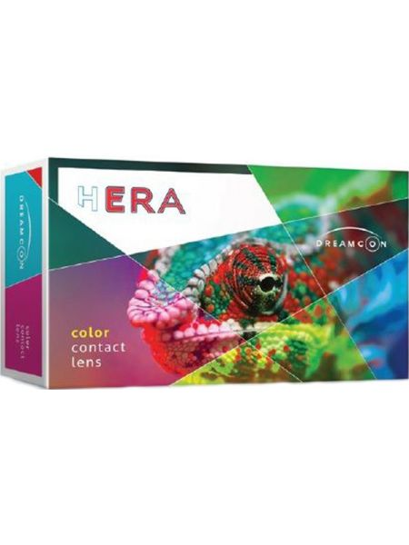 Контактные линзы Hera Black (2 линзы)