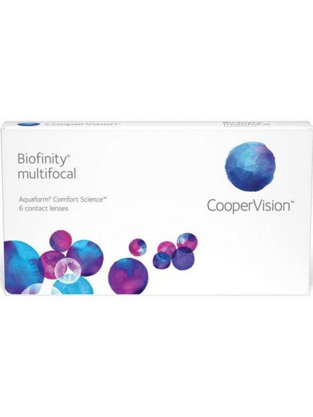 Акция. Контактные линзы Biofinity Multifocal (3 линзы)