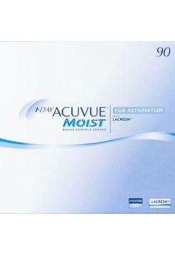 Торические линзы 1-Day Acuvue Moist for Astigmatism 90 линз (45 пар)