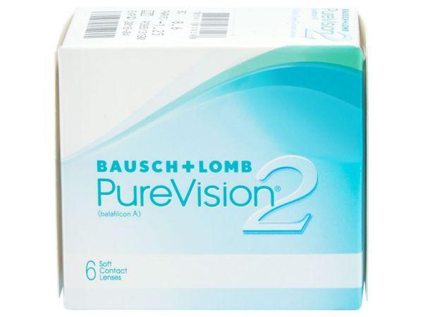 Контактные линзы PureVision 2 HD 6 линз