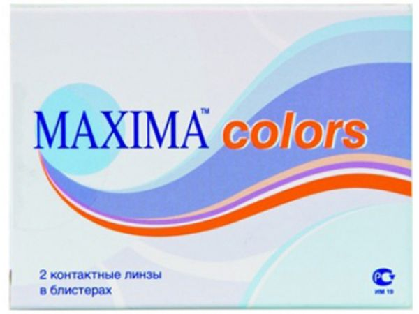 Контактные линзы Maxima Colors 2 линзы (1 пара)