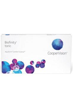 Торические линзы Biofinity Toric 6 линз (3 пары)