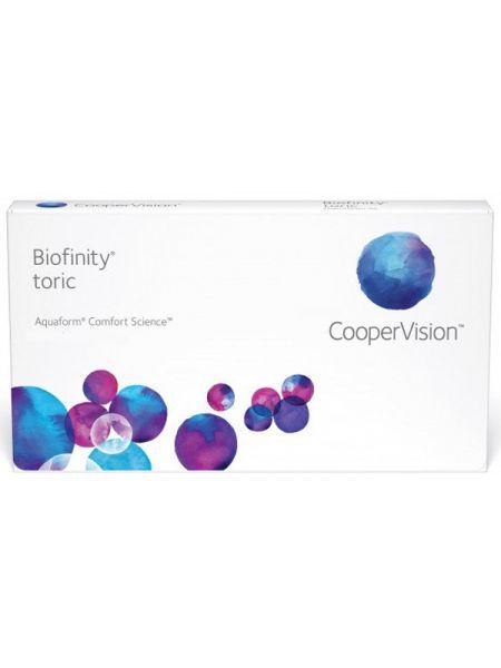 Торические линзы Biofinity Toric 6 шт.