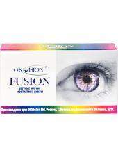 Карнавальные линзы Fusion Fancy 2 линзы (1 пара)
