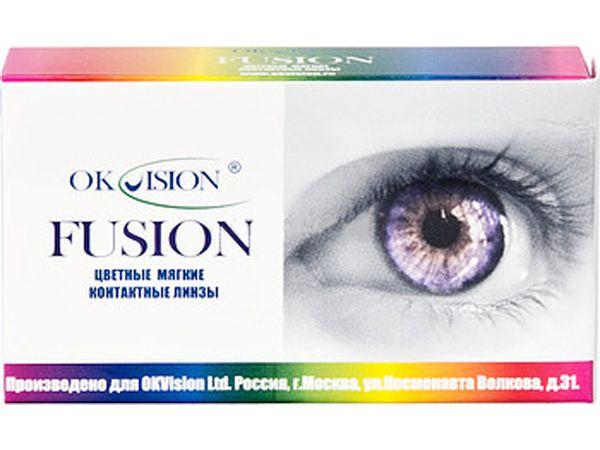 Карнавальные линзы Fusion Fancy (2 линзы)