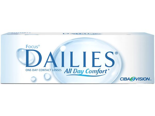 Контактные линзы Focus Dailies All Day Comfort 30 линз (15 пар)