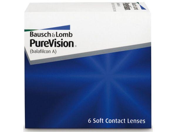 Контактные линзы PureVision (3 линзы)