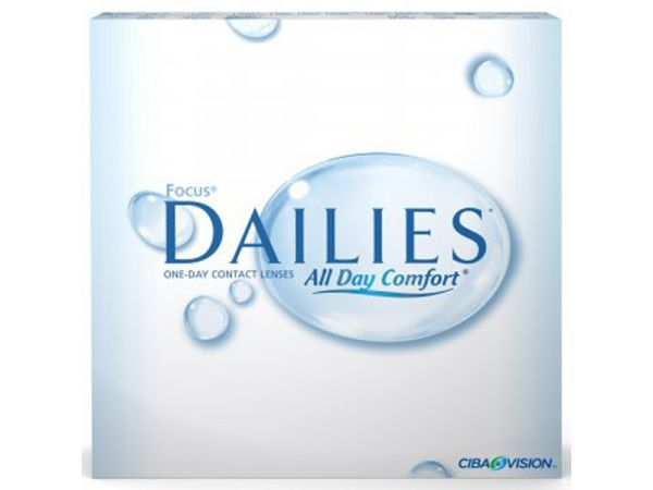 Контактные линзы Focus Dailies All Day Comfort (90 линз)