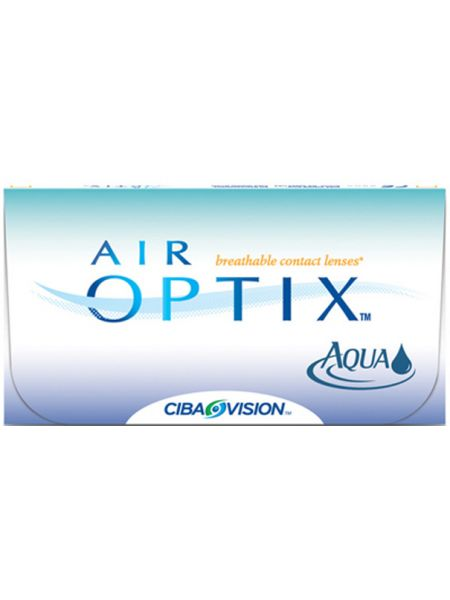 Линзы Air Optix Aqua 6 шт.