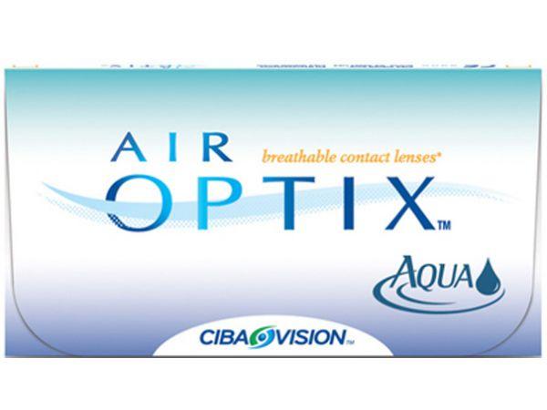 Контактные линзы Air Optix Aqua (6 линз)
