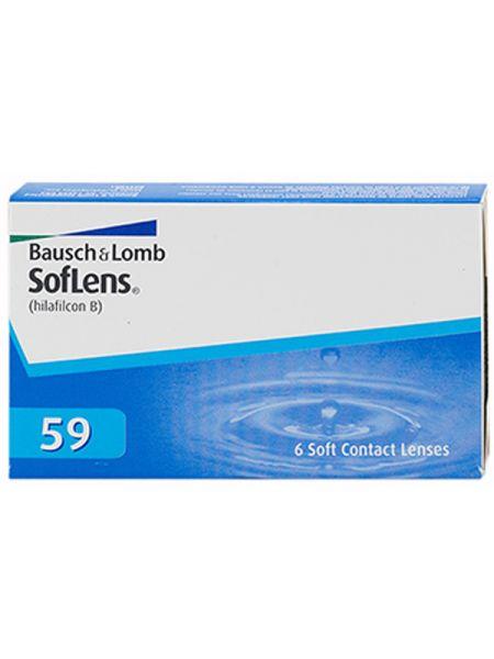 Контактные линзы SofLens Comfort (SofLens 59) 6 линз