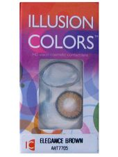 Оттеночные линзы Illusion Colors Elegance 2 линзы (1 пара)