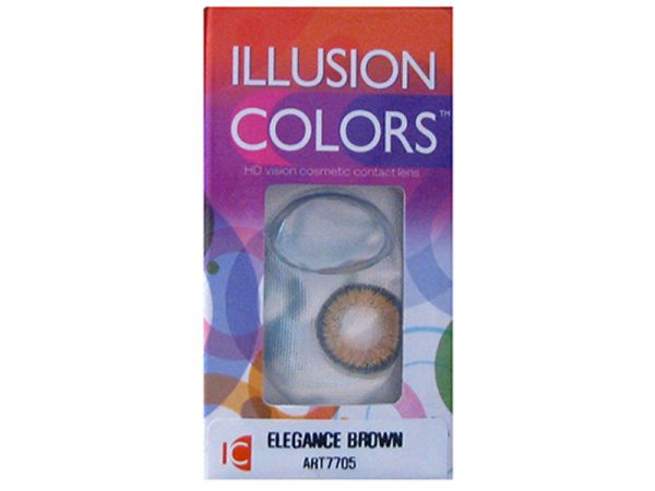Оттеночные линзы Illusion Colors Elegance 2 линзы