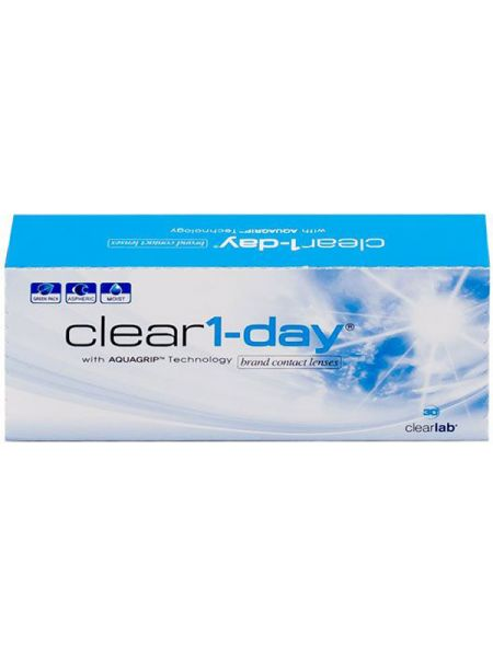Контактные линзы Clear 1-Day 30 линз (15 пар)