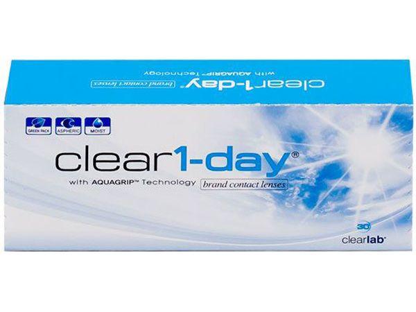 Контактные линзы Clear 1-Day 30 шт.