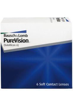 Контактные линзы PureVision 6 линз (3 пары)