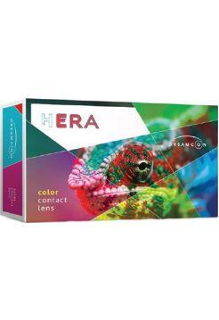 (МЯТАЯ УПАКОВКА) Цветные линзы Hera Tri-tone Elegance 2 линзы (1 пара)