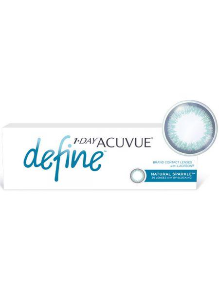 Контактные линзы 1-Day Acuvue Define Естественный блеск (Natural Sparkle) 30 линз