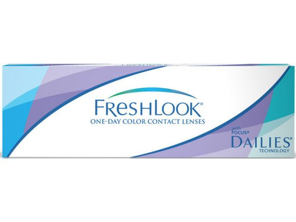 Цветные линзы FreshLook ONE-DAY color 10 линз (5 пар)