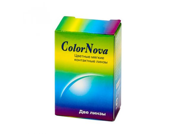Светящиеся линзы ColorNova Disco 2 линзы (1 пара)
