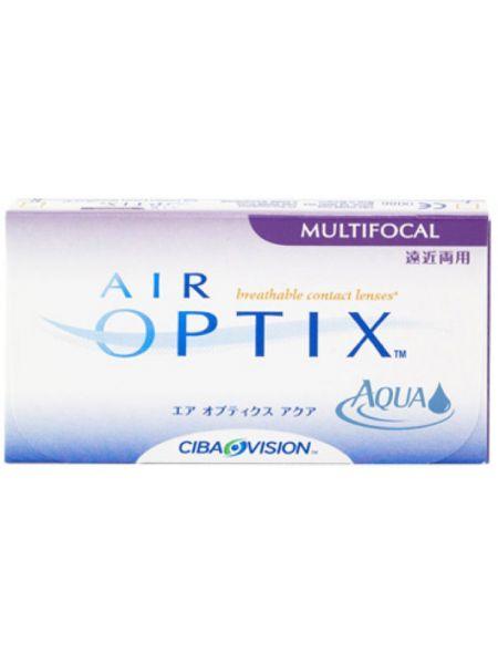 Контактные линзы Air Optix Aqua Multifocal 3 шт.