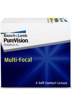 Контактные линзы PureVision Multifocal (6 линз)