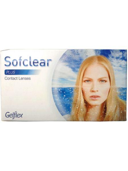 Контактные линзы Sofclear plus 3 линзы
