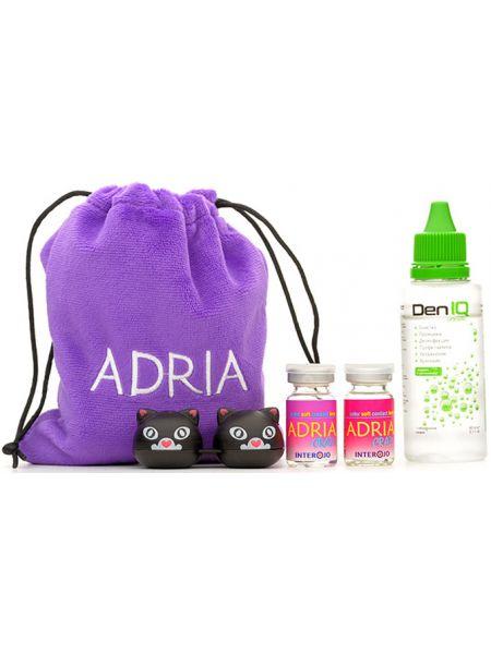 Контактные линзы Adria Crazy в подарочном наборе