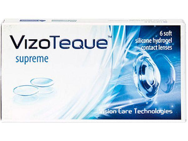 Контактные линзы VizoTeque Supreme (6 линз)