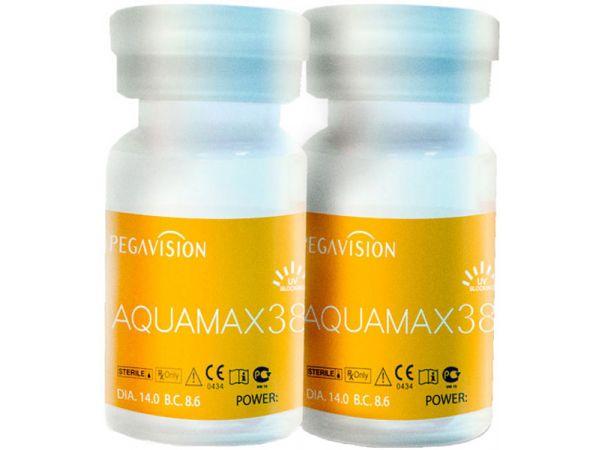 (МЯТАЯ УПАКОВКА) Контактные линзы Aquamax 38 (1 линза)