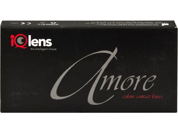 Цветные линзы IQLens Amore Роковое обольщение 2 линзы (1 пара)
