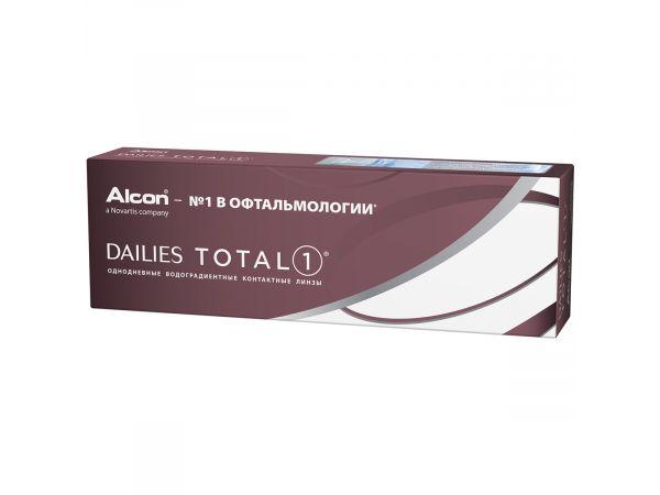 Контактные линзы Dailies Total 1 30 линз (15 пар)