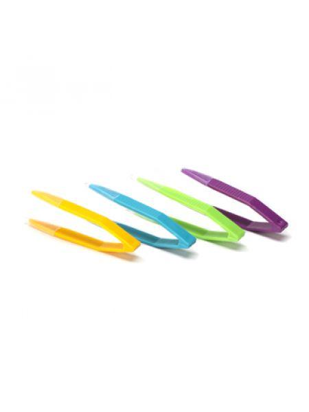 Пинцет цветной 8 см