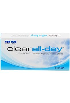 Контактные линзы Clear All Day 6 линз (3 пары)
