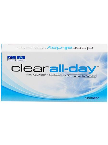 Контактные линзы Clear All Day 6 шт.