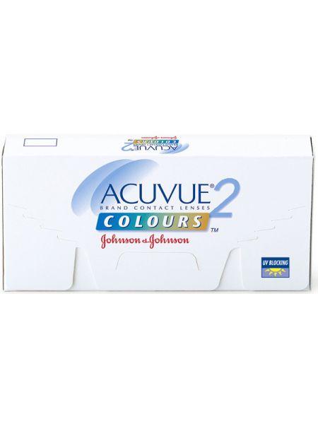 Цветнык линзы Acuvue 2 Colours Opaques 6 линз (3 пары)