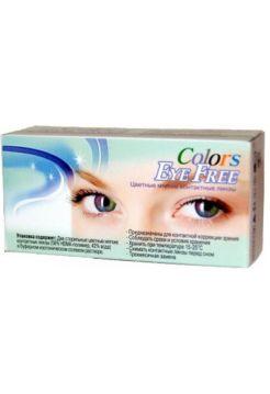Карнавальные линзы Crazy Colors Eye Free карнавальные (2 линзы)