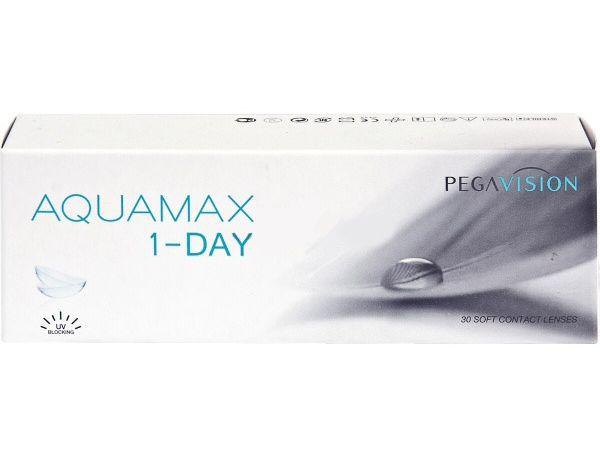 Контактные линзы Aquamax 1-day (30 линз)