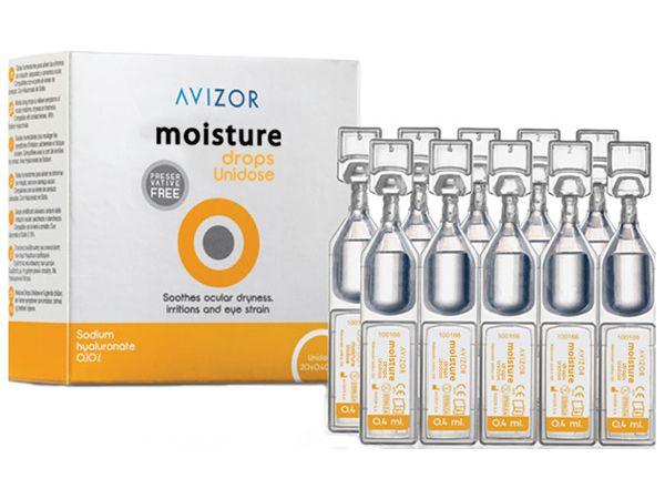 Капли Avizor Moisture Drops Unidose 20 х 0.4 ml