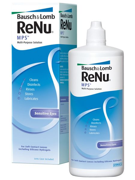 Раствор ReNu Multi-Purpose Solution 360 мл (ReNu MPS)