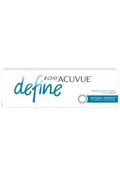 Контактные линзы 1-Day Acuvue Define Естественный Блеск (90 линз)