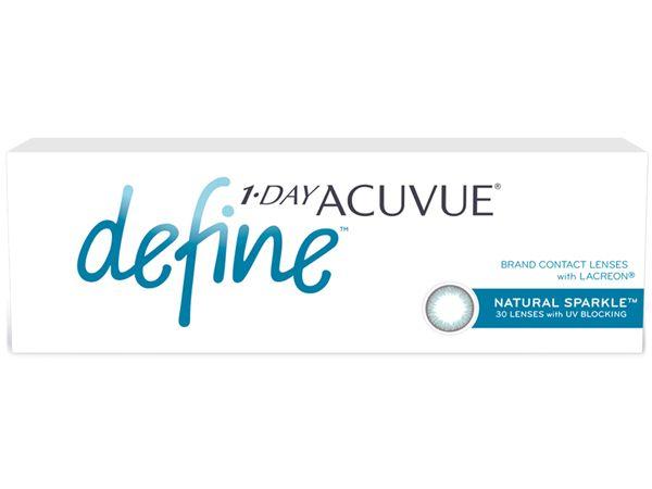 Контактные линзы 1-Day Acuvue Define Естественный Блеск 90 линз (45 пар)